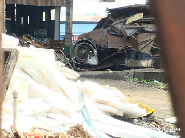 宜宾一废旧回收公司发生爆炸,已致一人死亡!