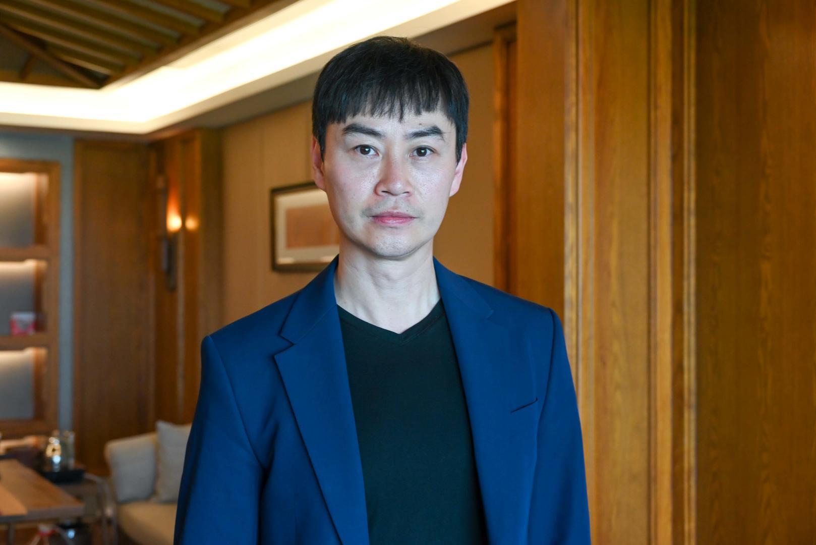 回成都担任艺术展推广大使 陈虎透露《黑客帝国4》最新动态
